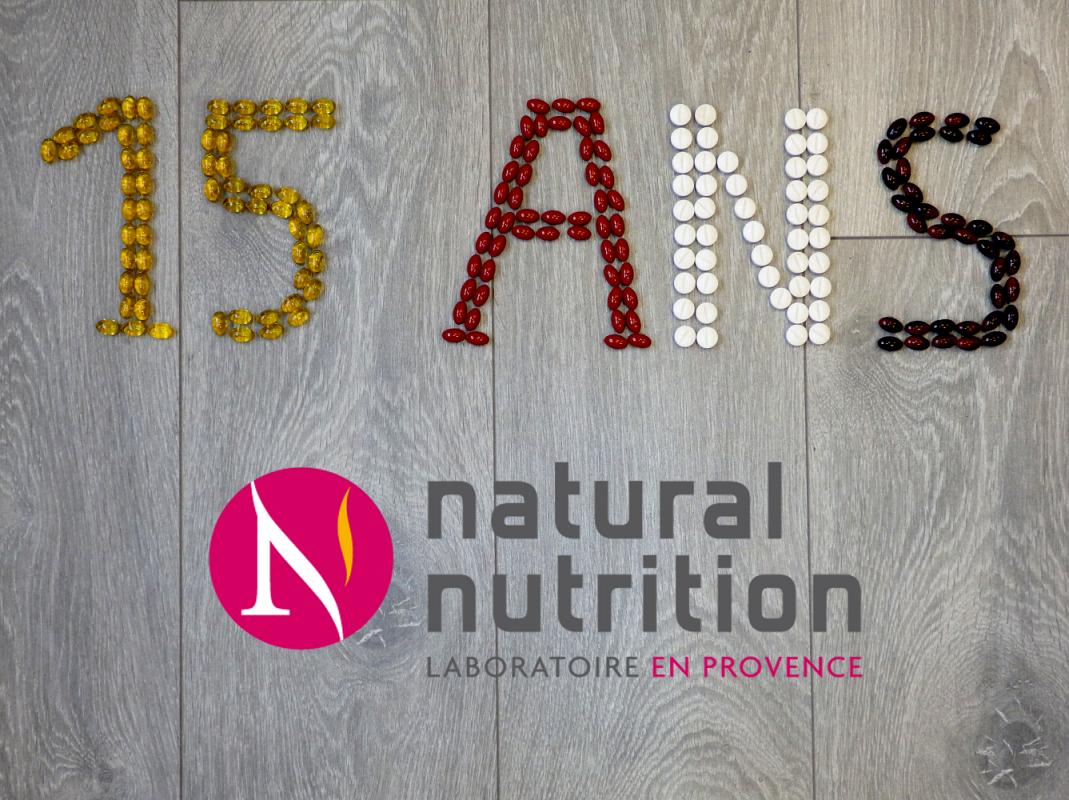Natural Nutrition fête ses 15 ans !
