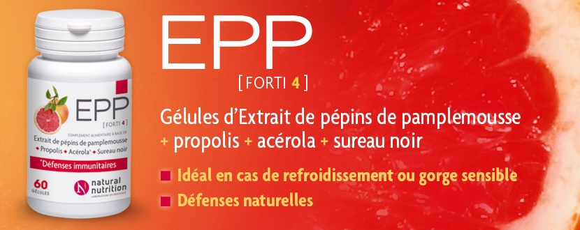 EPP Forti 4 laboratoire Natural Nutrition