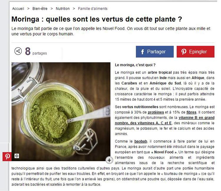 Moringa natural nutrition avantages laboratoire en - Quelles sont les plantes que l on peut bouturer ...